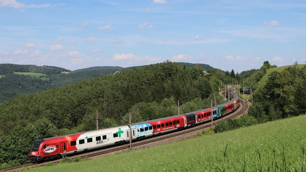 OBB Railjet Colorato