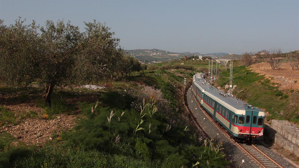 ALn668 Storiche a San Cataldo (CL)