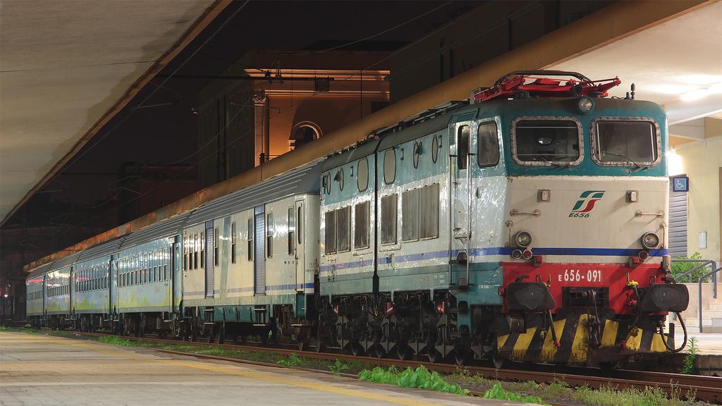 E656 091 Treno Verde Catania Centrale