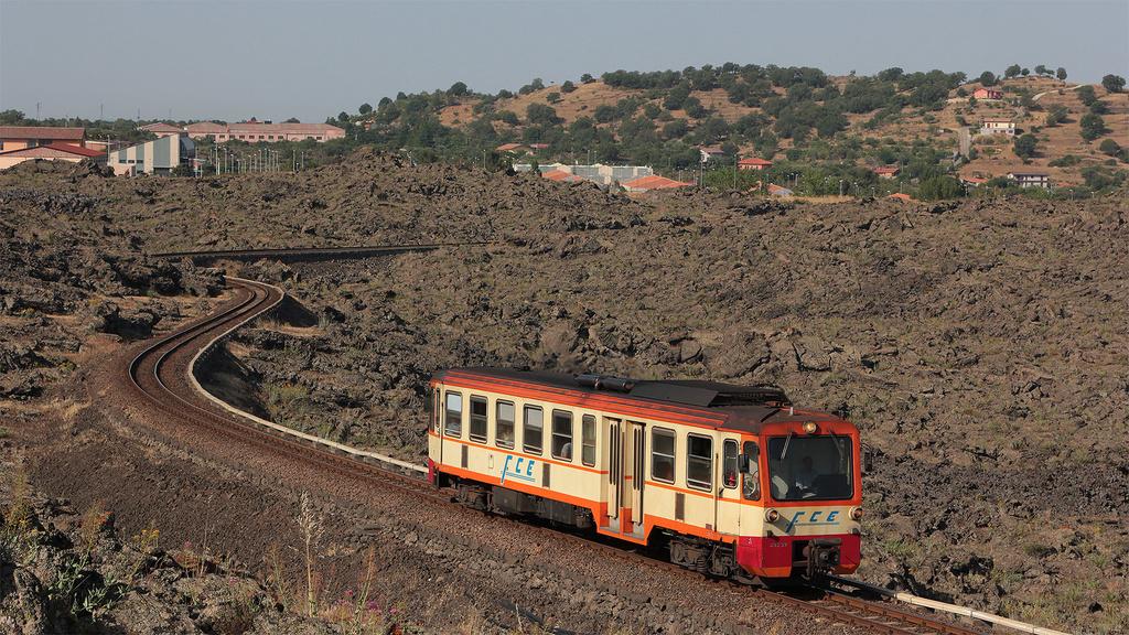 ADe22 Ferrovia Circumetnea Bronte