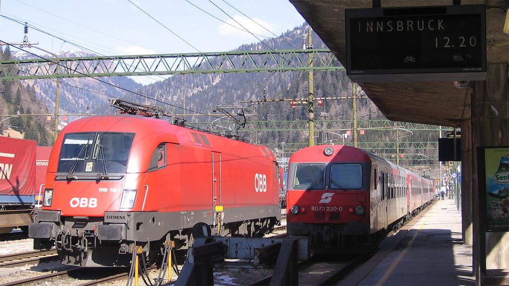 Brennero (BZ), OBB 1116 119