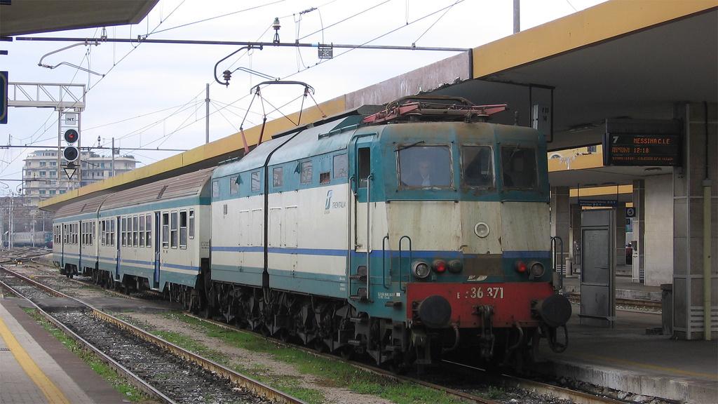 E636 371 Catania Centrale