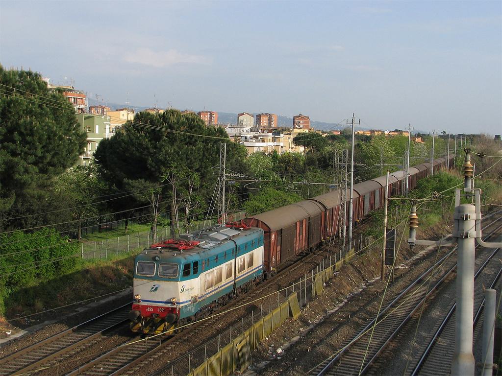 E655 102 Roma Casilina
