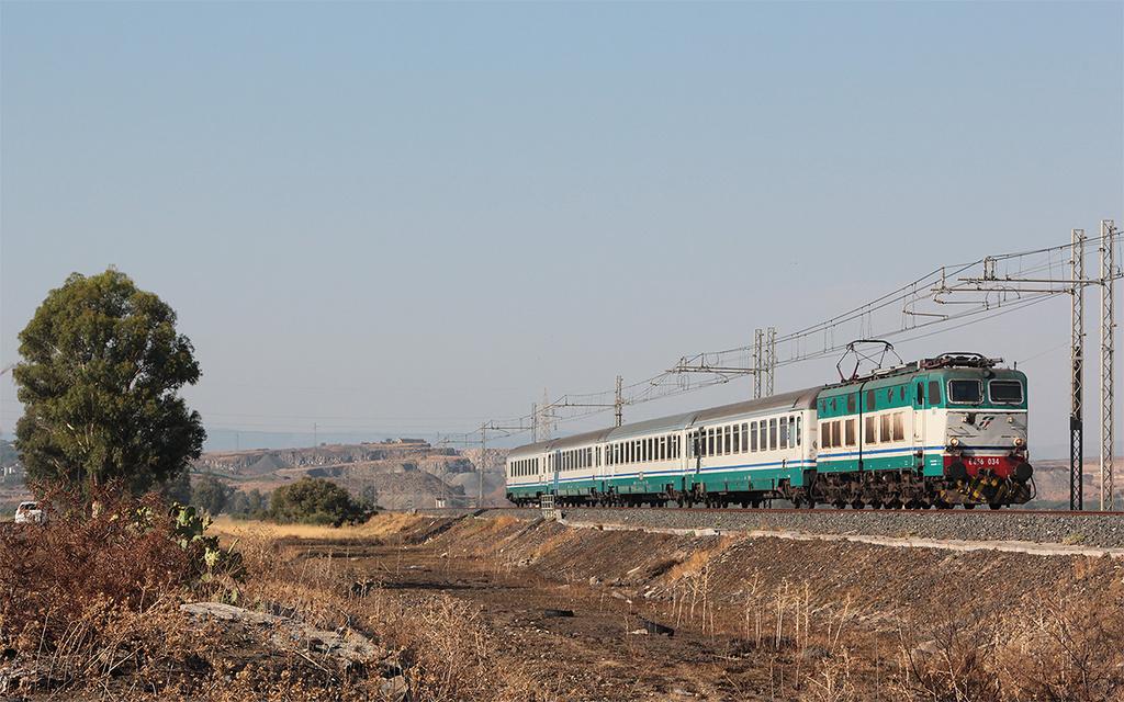 E656 034 Passomartino Intercity 722