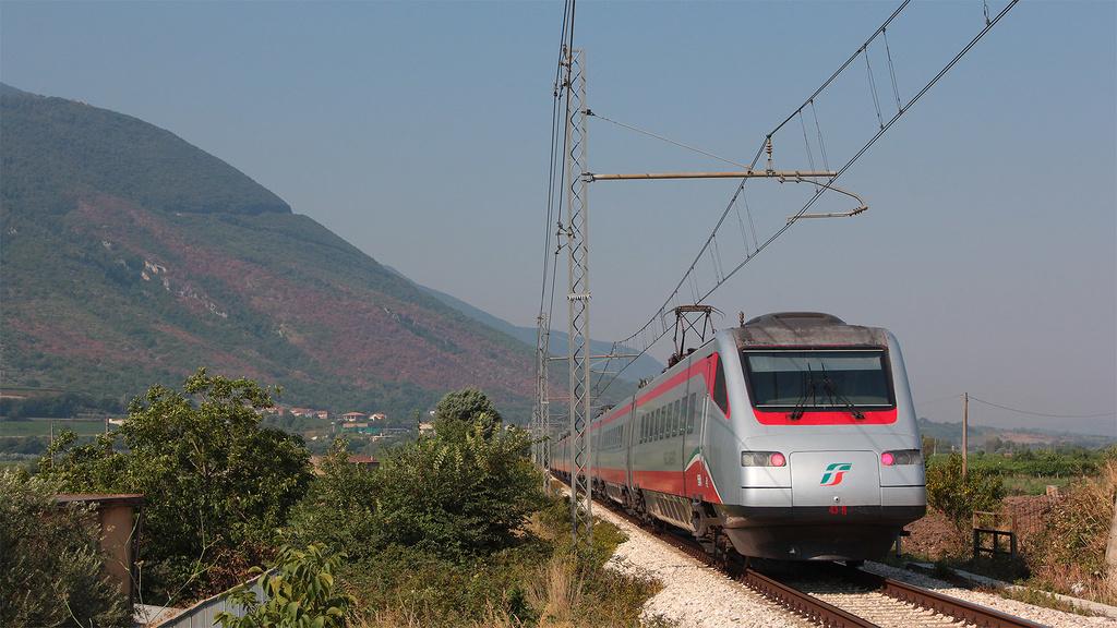 ETR 485 Treno 42 San Lorenzo Maggiore