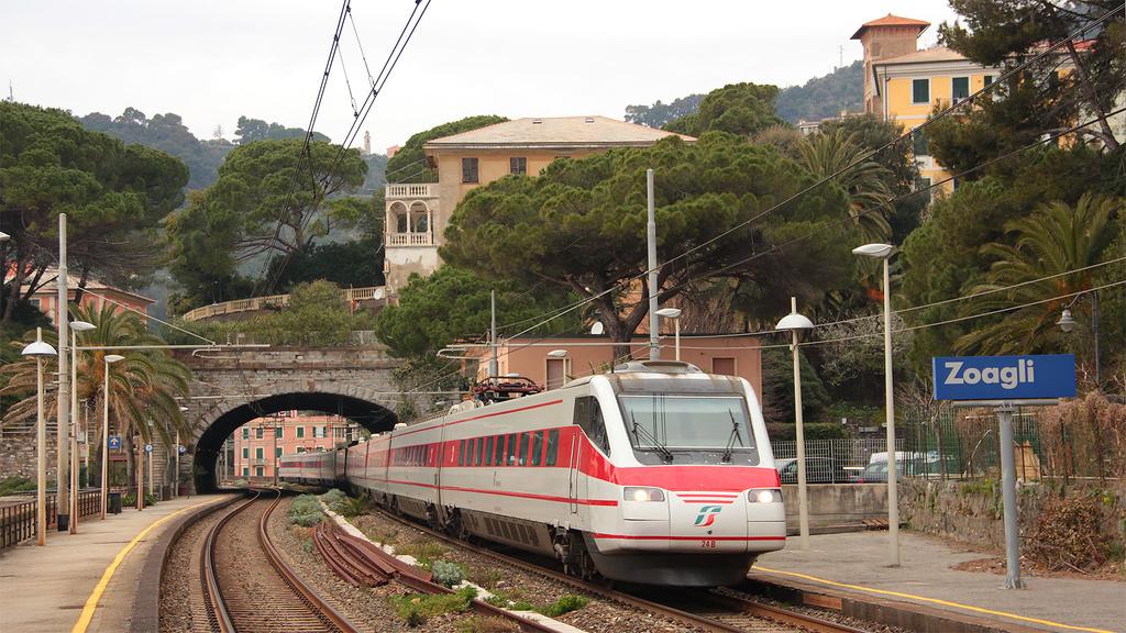 Etr460 Treno 24 Zoagli