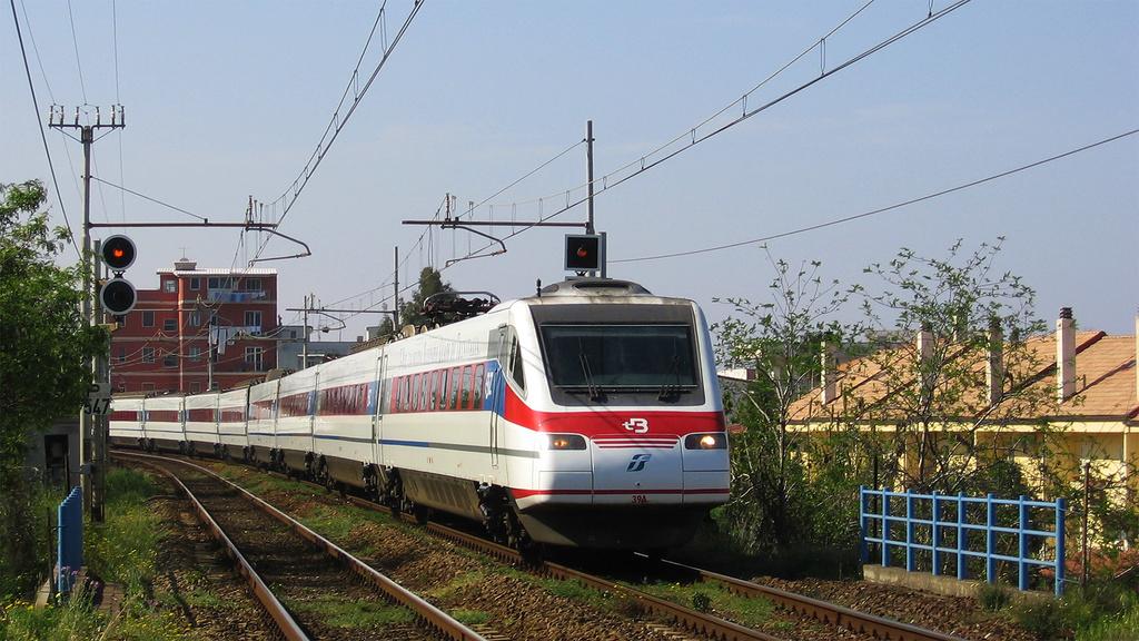 Etr485 Treno 39 Reggio Calabria Archi