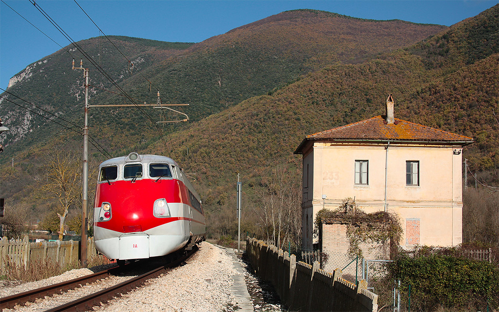ETR 450 Treno 1 ad Albacina (AN)