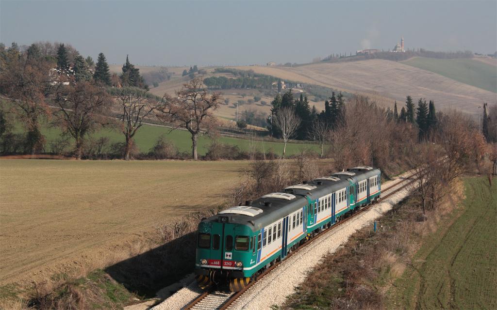 ALn668 3243 e 32xx e 3154 Valleverde - presso Corridonia