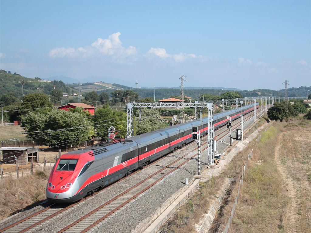 Etr 500 treno 53 presso Posto Comunicazione Bassano