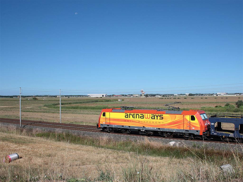 E483 019 presso Aeroporto Pisa