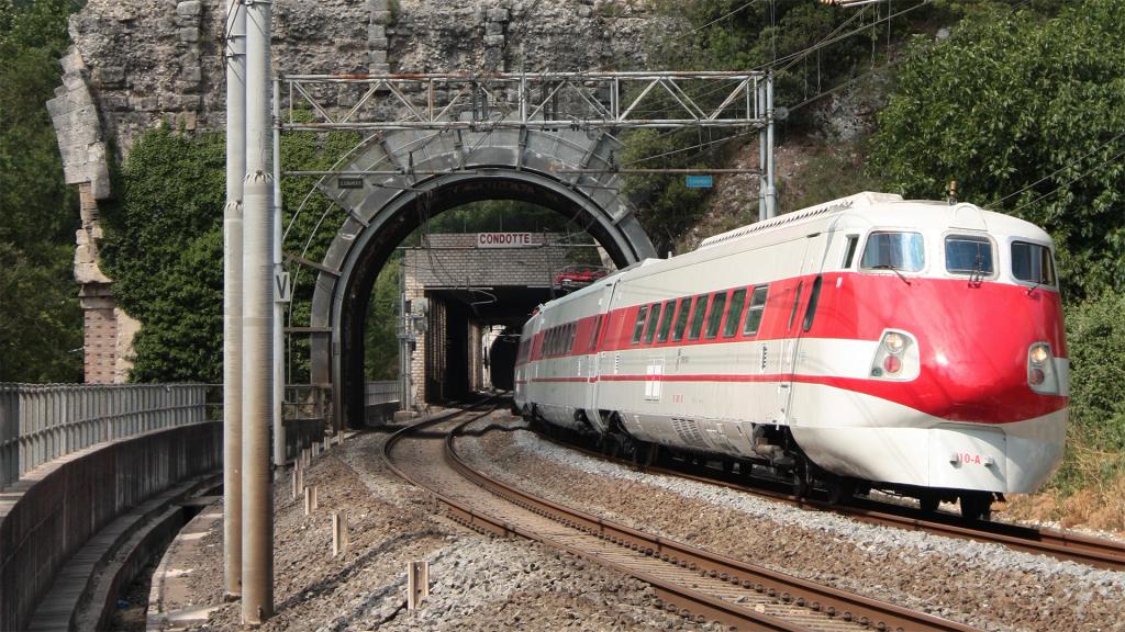 ETR 450 Treno 10 Narni Scalo