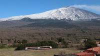 Vulcano DMU 003 Ferrovia Circumetnea Roccacalanna Etna