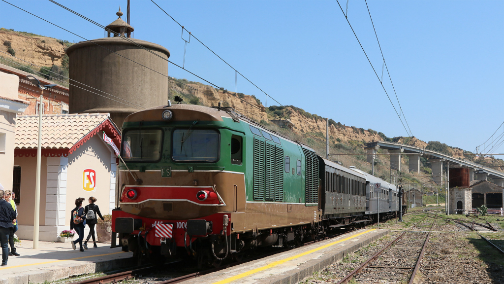 D445 1006 stazione di Porto Empedocle