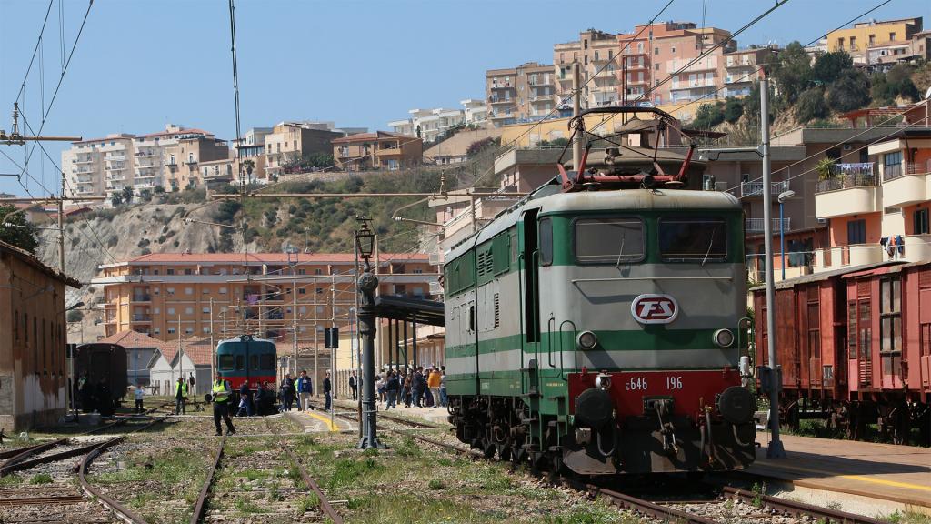 E646 196 stazione di Porto Empedocle