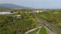 ALe501 017 dal drone a Calatabiano