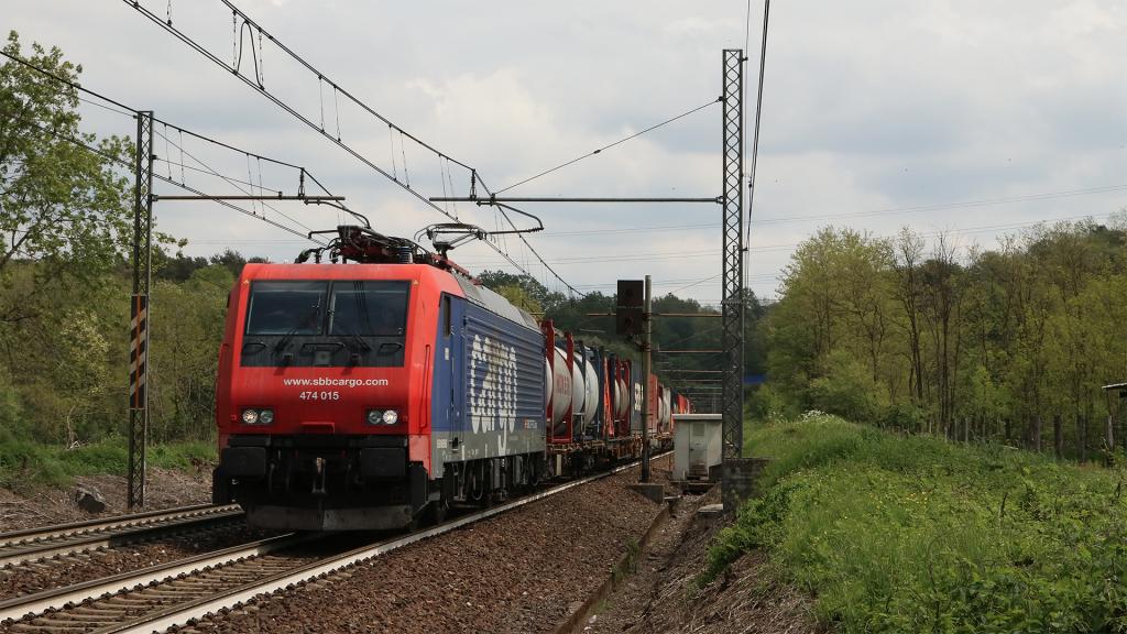 E474 015 SBB Cargo Vergiate