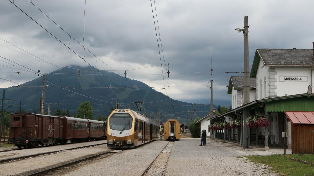 Vista panoramica di Mariazell