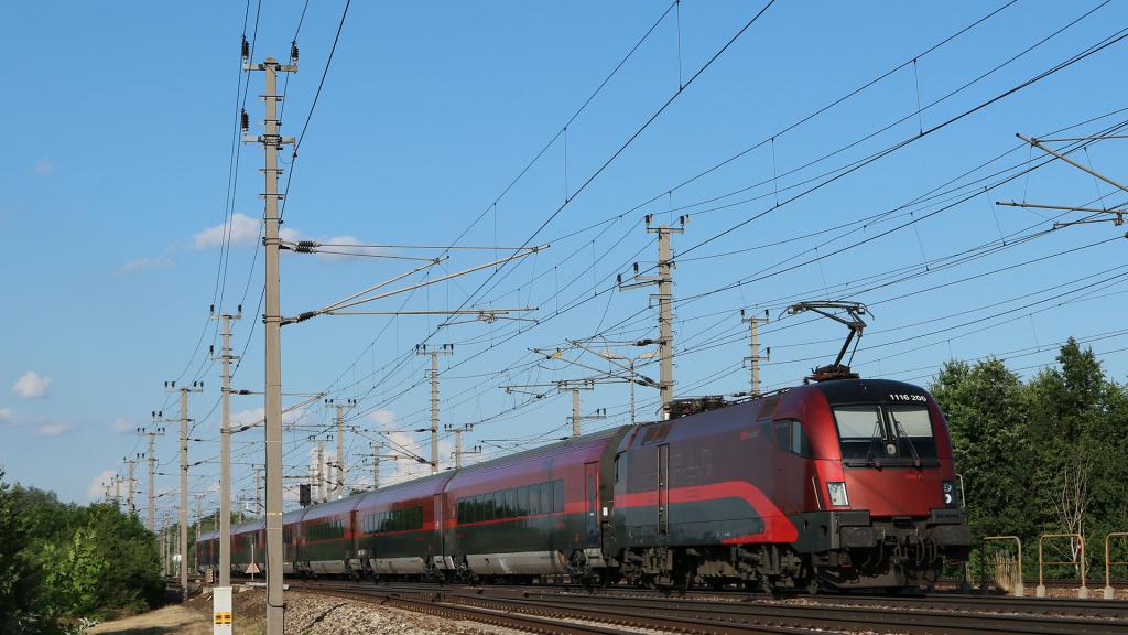 OBB 1116 200 Railjet Prinzersdorf