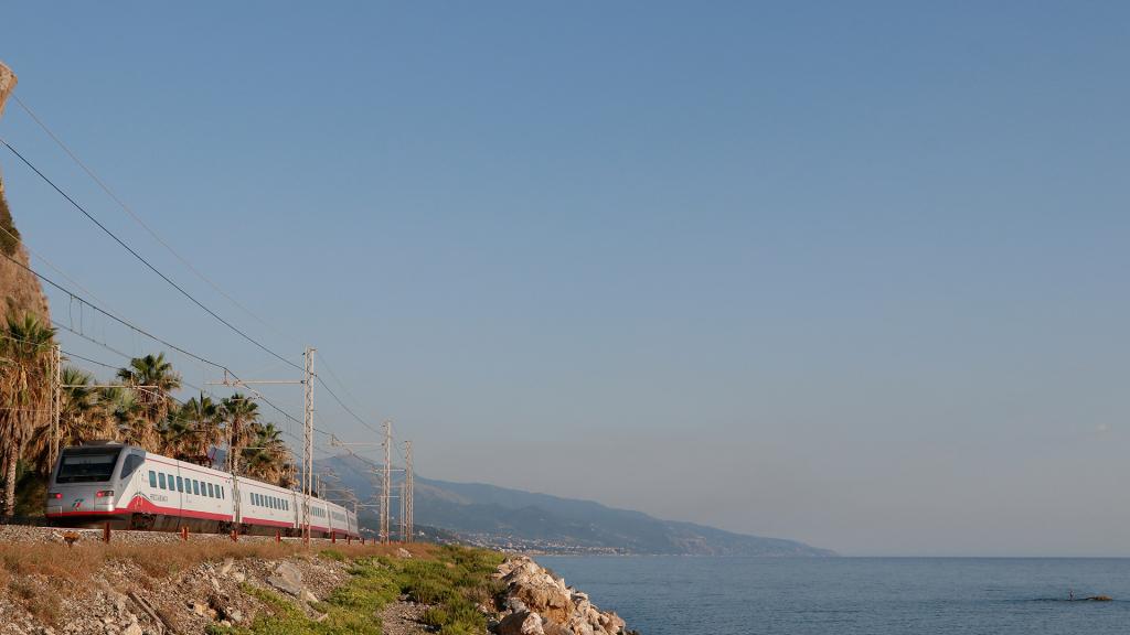 Etr470 treno 7 Guardia Piemontese Terme
