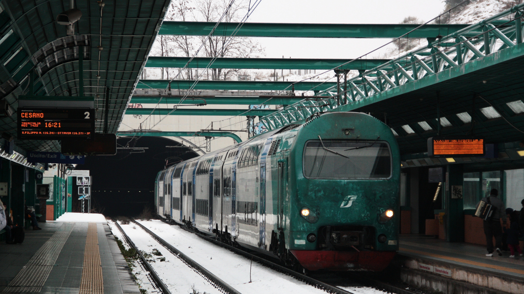 ALe426 TAF treno 22 Valle Aurelia