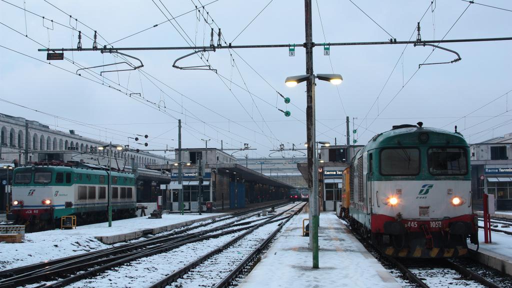 D445 1052 e E656 448 Roma Termini