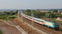 E464 617 Carruba Intercity 722 da Siracusa a Roma Termini