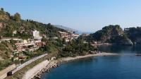E464 334 e E464 309 Isolabella Taormina Intercity 722 per Roma Termini