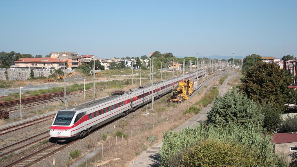 Etr460 treno 21 Maccarese-Fregene