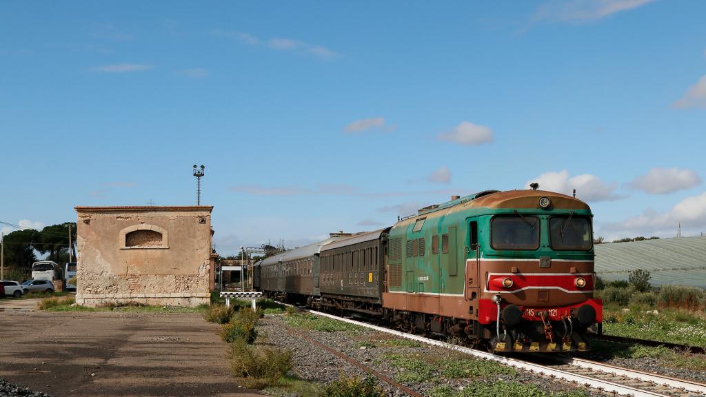 D345 1121 stazione di Campobello - Ravanusa