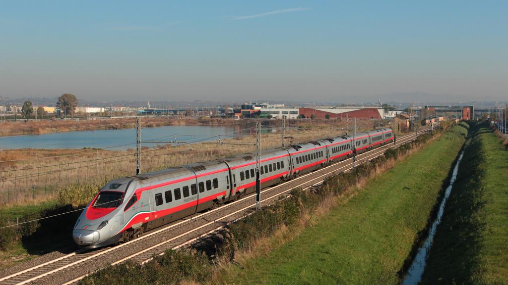 ETR600 Treno 4 Parco Leonardo