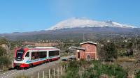 Vulcano DMU 003 Ferrovia Circumetnea Scalilli