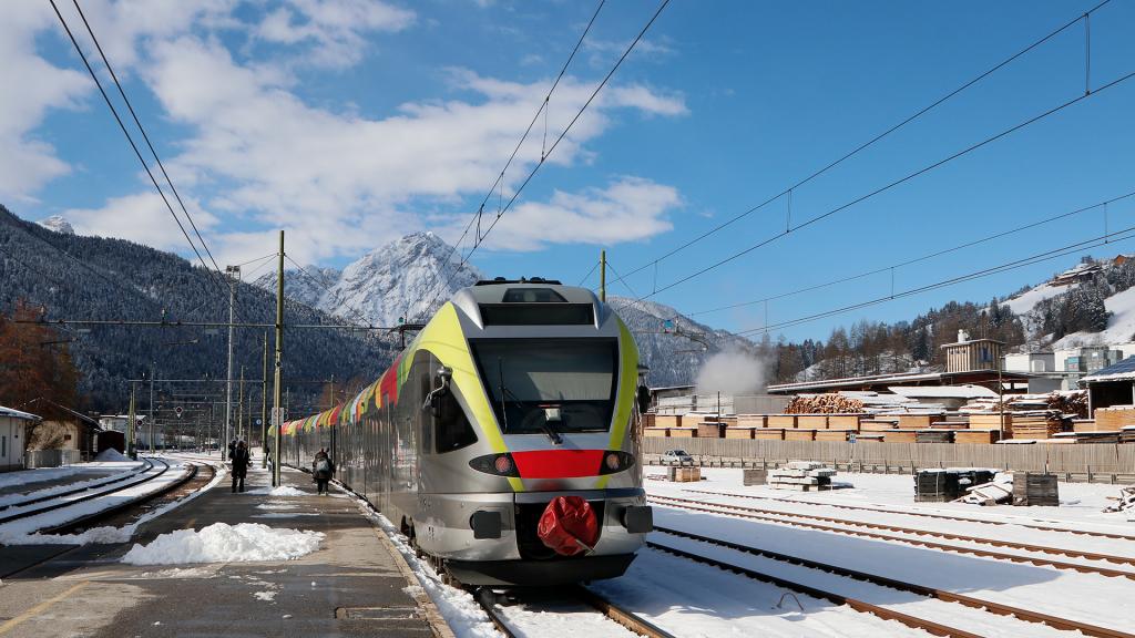 ETR 170 SAD treno 5 San Candido