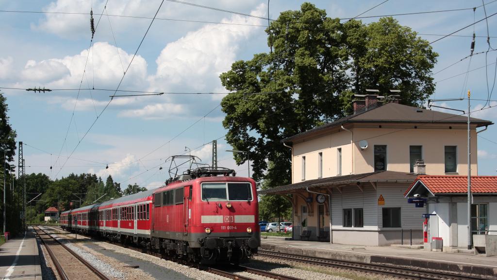 DB 111 001 Aßling