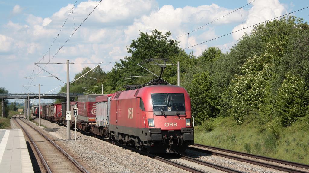 OBB 1116 174 Vierkirchen-Esterhofen