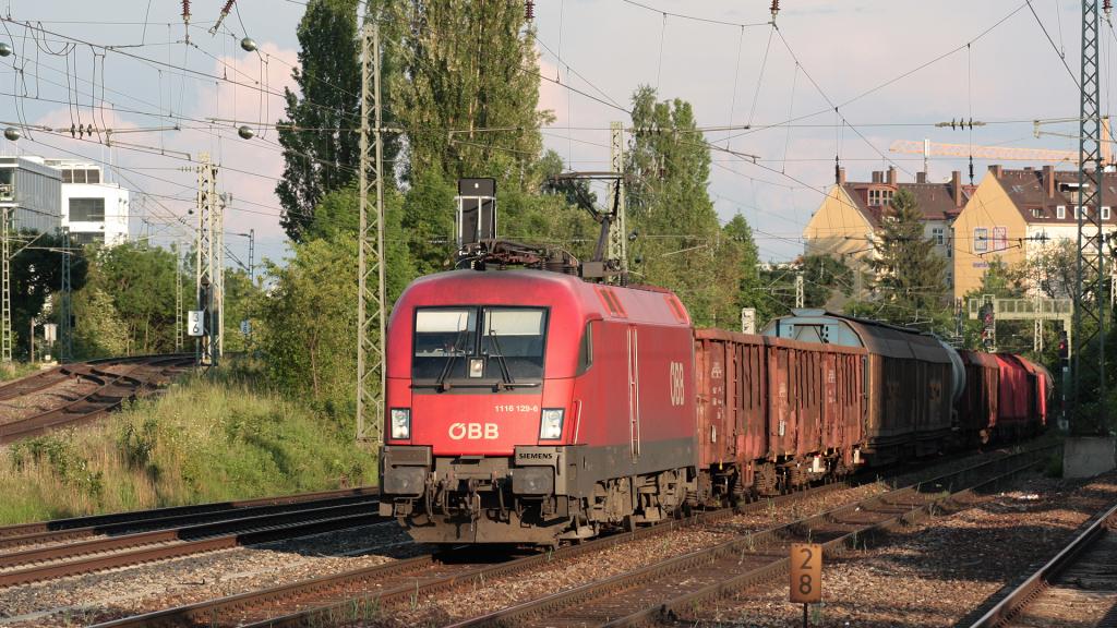OBB 1116 129 Heimeranplatz