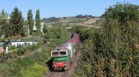 Treno Merci di Nord Cargo da Chiasso Smistamento a Castellina in Chianti, con carri diretti all
