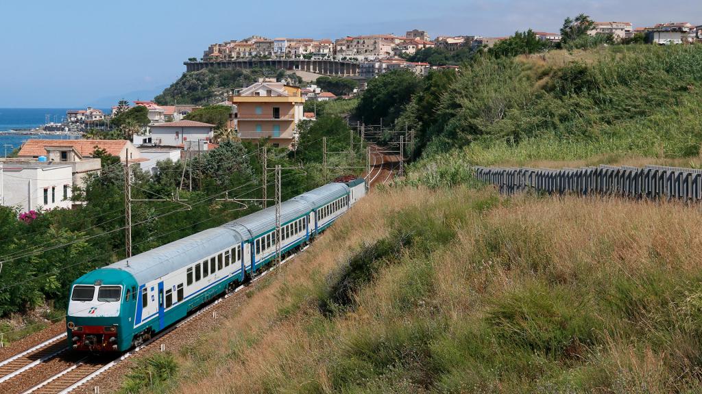 Carrozza Pilota UIC-X San Lucido Marina