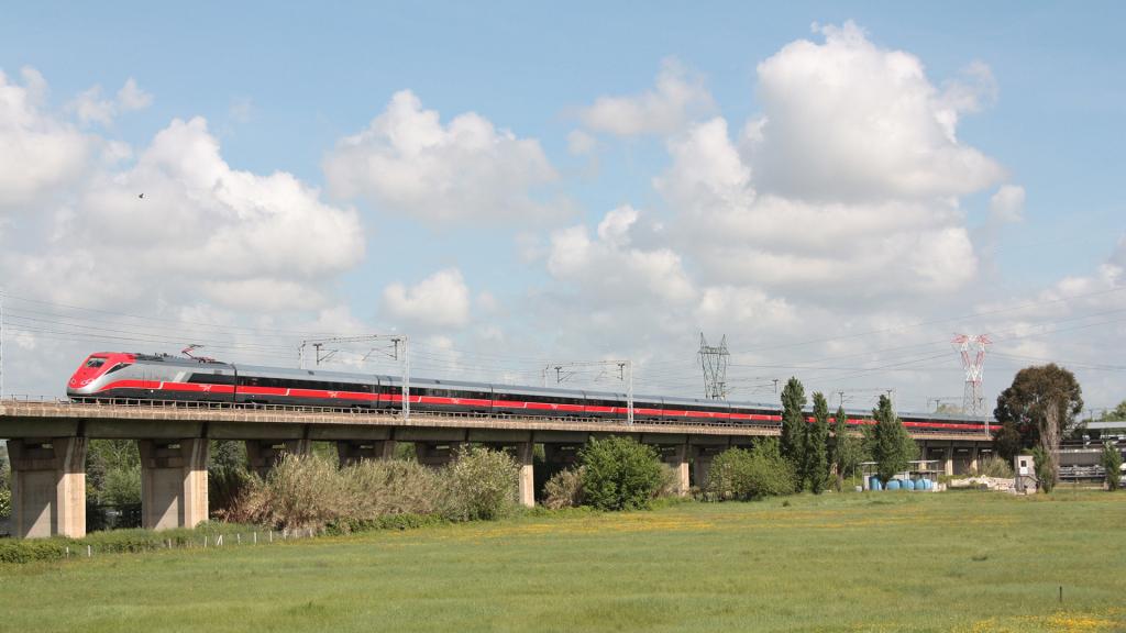 ETR 500 treno 27 Settebagni