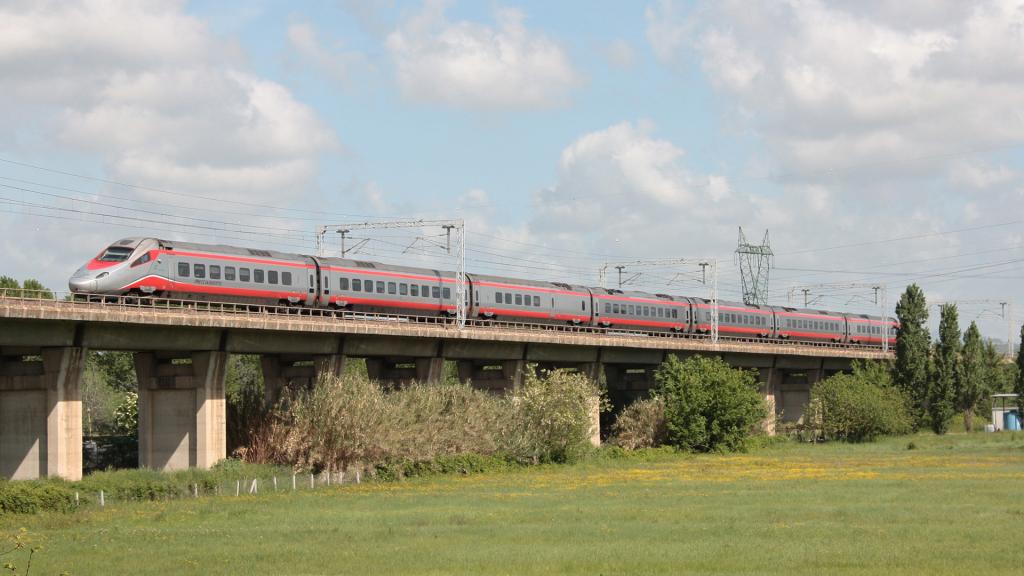 ETR 610 treno 8 Settebagni