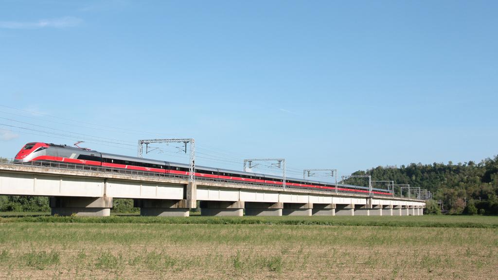Etr500 treno 35 Civita Castellana