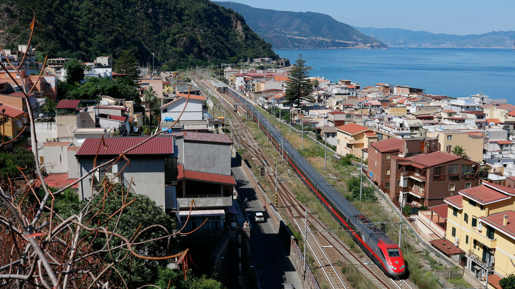 ETR 500 treno 59 Bagnara