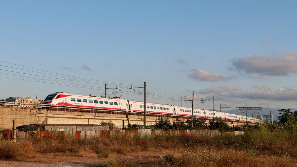 ETR 463 treno 6 Rosarno
