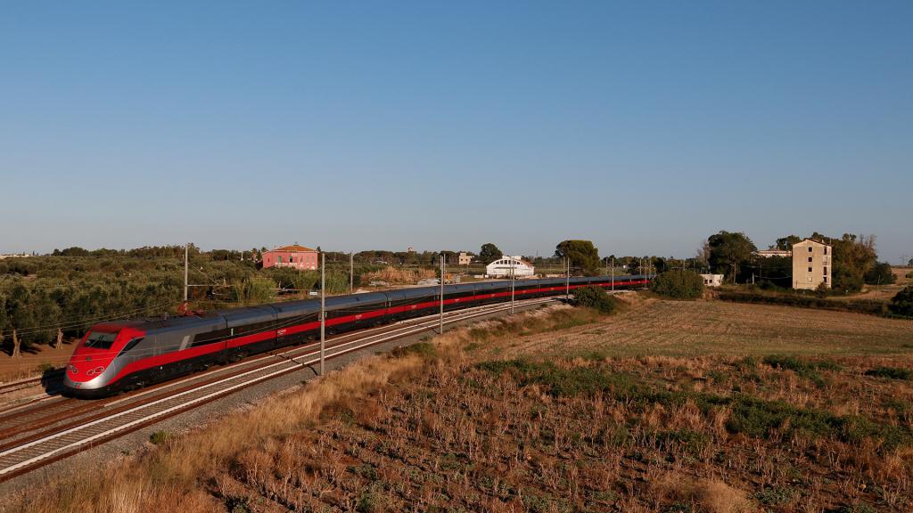 ETR 500 treno 45 San Vito dei Normanni