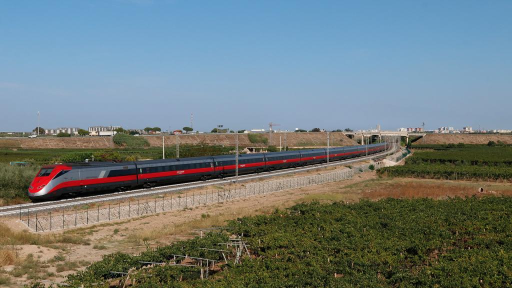 ETR 500 treno 56 Barletta