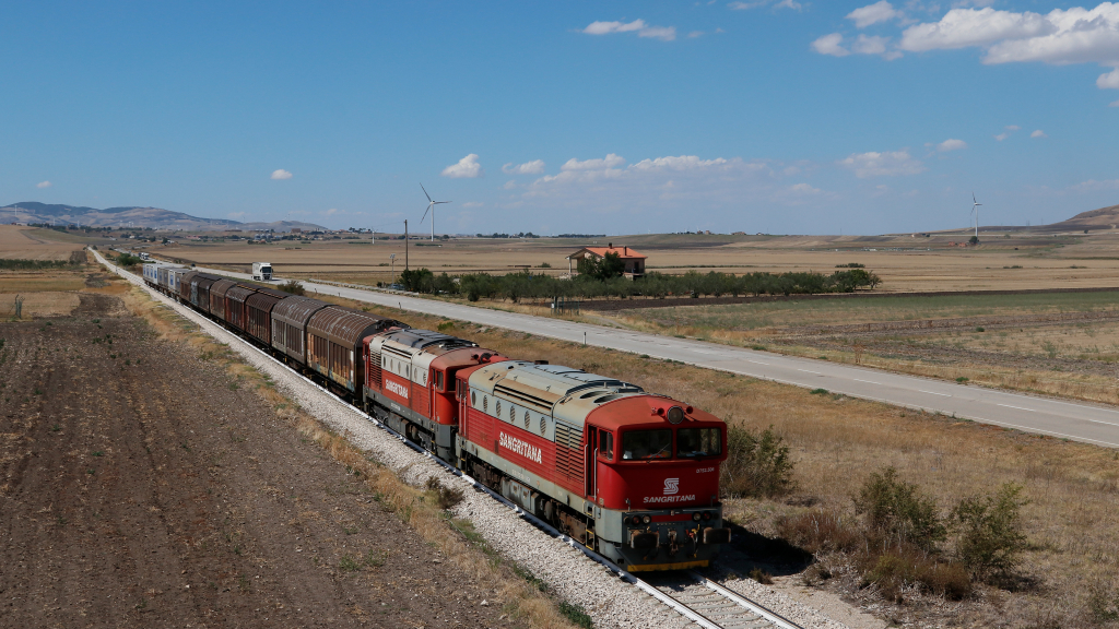 D752 506 e 507 Ferrovia Sangritana Candela