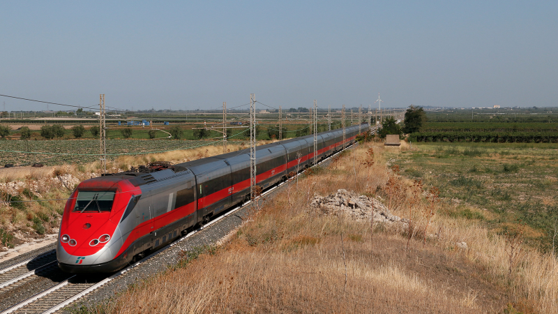 ETR 500 treno 56 Ortanova