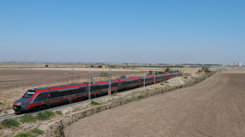 ETR 700 treno 16 Rignano Garganico