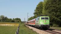 DB 111 039 Mit der Bahn in die Berge Vogl