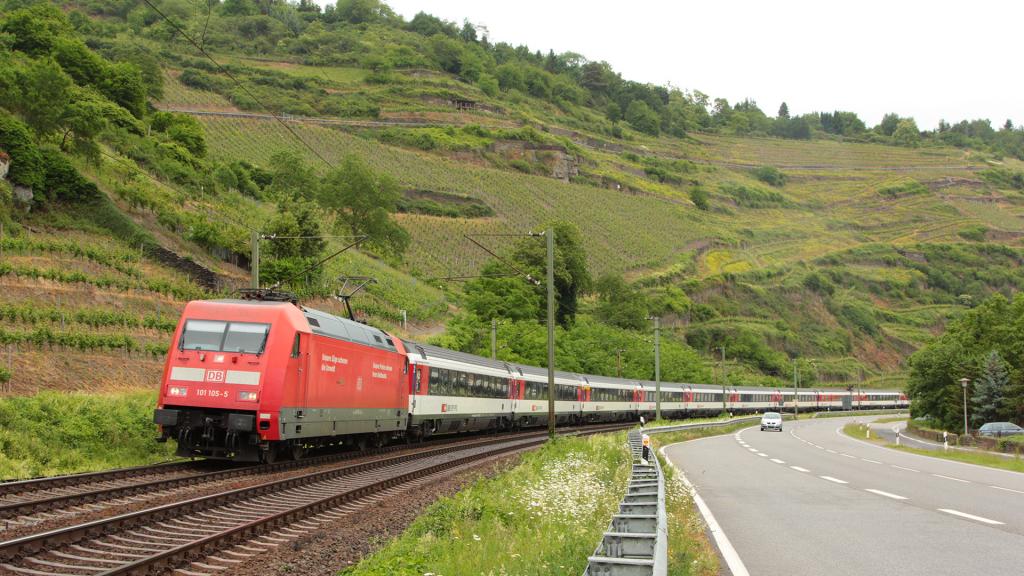 DB 101 105 Oberwesel